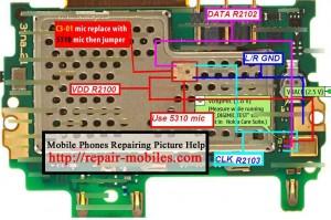 Nokia C3-01 Mic Ways