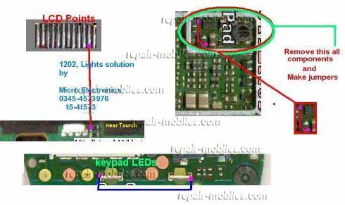 1203 1202 Light Problem Solution Mobile Repairing