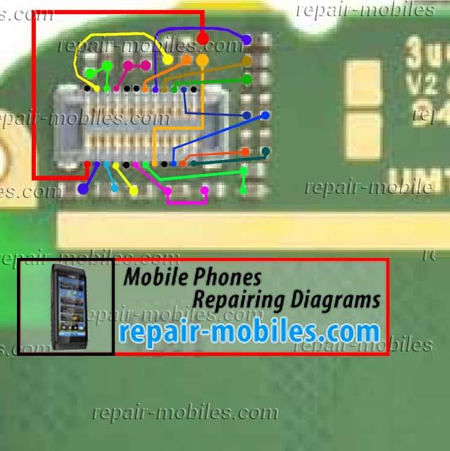 Nokia Asha 202, 203 LCD
