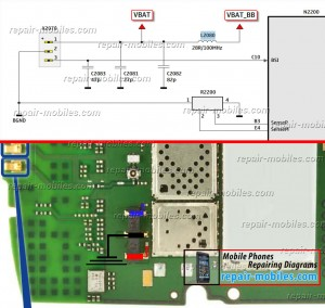 Asha 303 Battery Connector Ways Jumpers