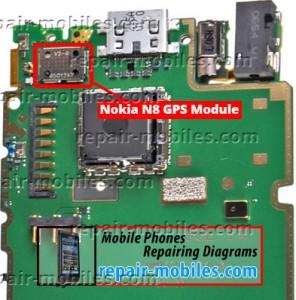 Nokia N8 GPS Module