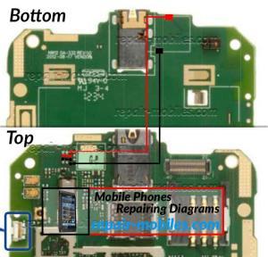 Nokia Lumia 510 Earpiece Ways