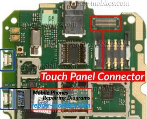 Nokia Lumia 510 Touch Panel Connector