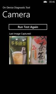 Nokia Lumia 610C Camera Diagnostic Test