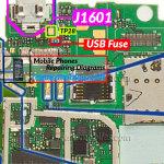Nokia Lumia 610C USB Troubleshoot Components