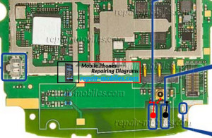 Nokia Lumia 610C Network Antenna Ways