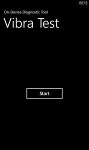 Nokia Lumia 610C Vibrate Test